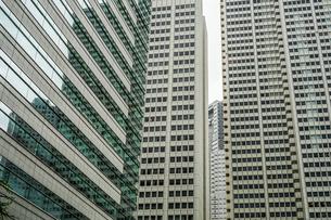 新宿のビル群の写真素材 [FYI01246640]