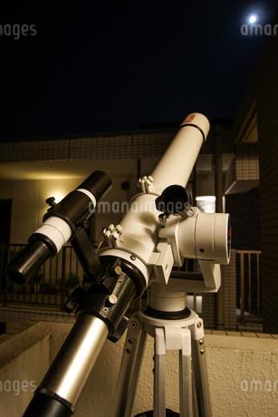 天体望遠鏡のイメージの写真素材 [FYI01246669]