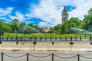 ホワイトハウス(ワシントンDC)の写真素材 [FYI01246682]
