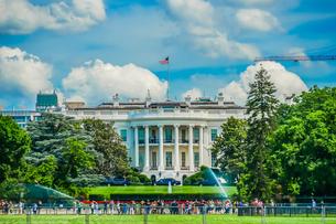 ホワイトハウス(ワシントンDC)の写真素材 [FYI01246685]