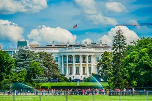 ホワイトハウス(ワシントンDC)の写真素材 [FYI01246686]