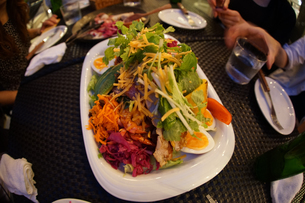 おしゃれなディナーのイメージの写真素材 [FYI01246694]