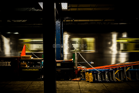 ニューヨークの地下鉄のイメージの写真素材 [FYI01246727]