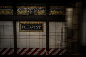 ニューヨークの地下鉄のイメージの写真素材 [FYI01246729]
