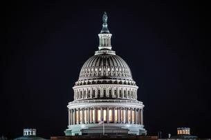 アメリカ合衆国議会議事堂(United States Capitol)の写真素材 [FYI01247112]
