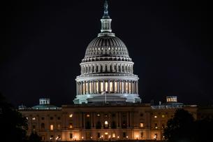 アメリカ合衆国議会議事堂(United States Capitol)の写真素材 [FYI01247113]