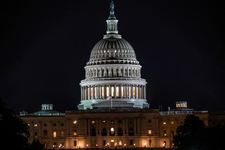 アメリカ合衆国議会議事堂(United States Capitol)の写真素材 [FYI01247114]
