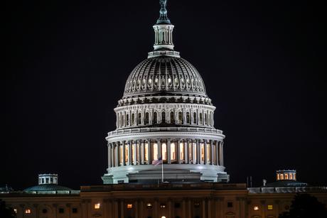 アメリカ合衆国議会議事堂(United States Capitol)の写真素材 [FYI01247115]