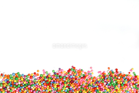 小さな発泡スチロールのボールの写真素材 [FYI01247403]