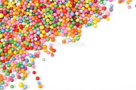小さな発泡スチロールのボールの写真素材 [FYI01247404]
