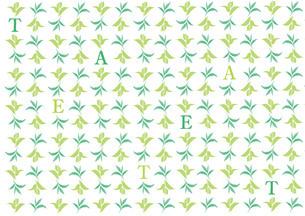 茶葉のパターンのイラスト素材 [FYI01247410]
