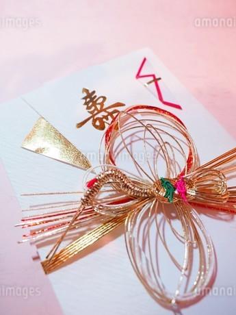 ご祝儀袋 ご結婚祝いの写真素材 [FYI01247525]