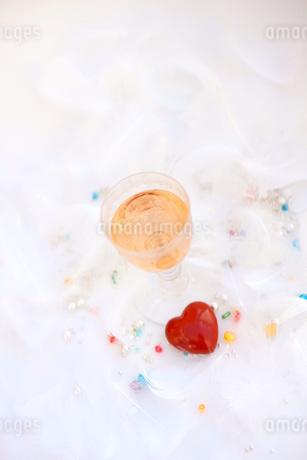 ピンクシャンパンの写真素材 [FYI01247824]