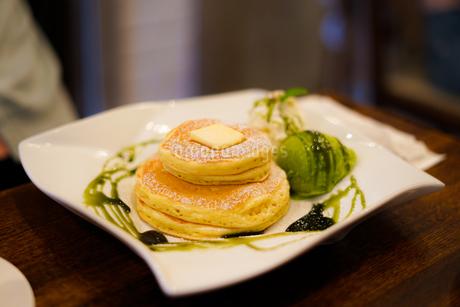 ホットケーキ・パンケーキのイメージの写真素材 [FYI01248136]