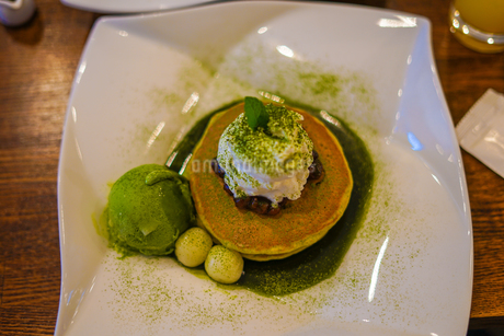 ホットケーキ・パンケーキのイメージの写真素材 [FYI01248139]