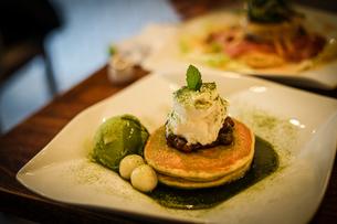 ホットケーキ・パンケーキのイメージの写真素材 [FYI01248140]