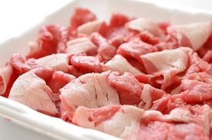 牛肩ロース肉の写真素材 [FYI01248361]