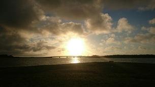 夕日の写真素材 [FYI01248413]