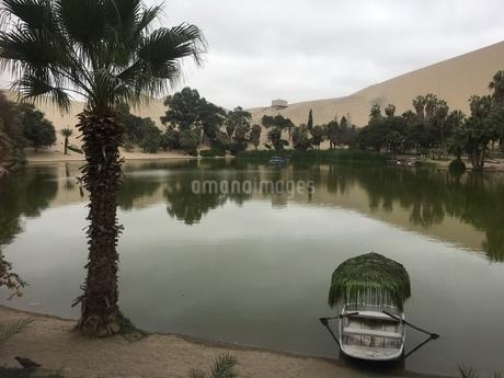 ペルー ワカチナ湖3の写真素材 [FYI01248502]