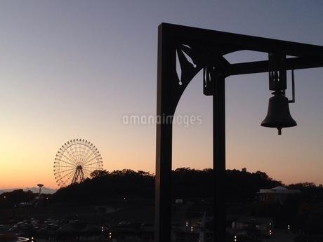 夕暮れの風景の写真素材 [FYI01248646]