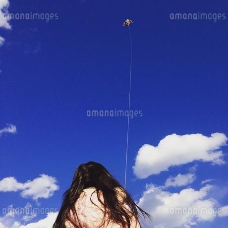 凧揚げの写真素材の写真素材 [FYI01248798]