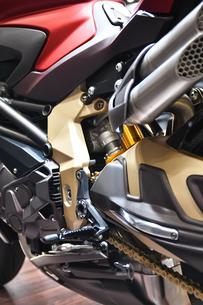 輸入バイクのエンジンの写真素材 [FYI01248907]