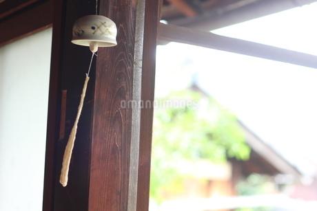 古民家の風鈴の写真素材 [FYI01248999]