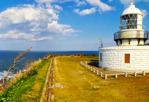 灯台の写真素材の写真素材 [FYI01249267]