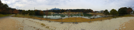 公園のパノラマ写真素材の写真素材 [FYI01249372]