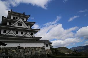 空と城の写真素材 [FYI01249376]