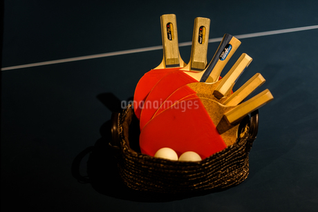 卓球のイメージの写真素材 [FYI01249490]