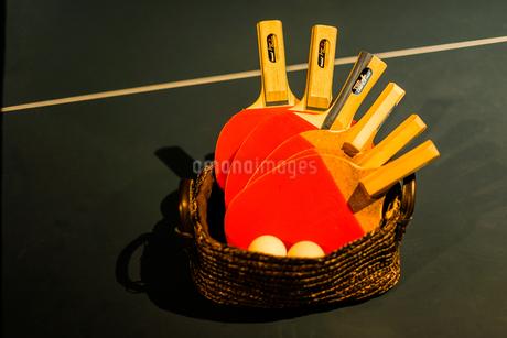 卓球のイメージの写真素材 [FYI01249492]