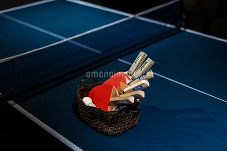 卓球のイメージの写真素材 [FYI01249493]