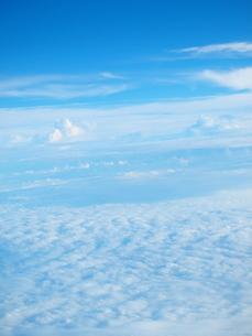 天空の雲の写真素材 [FYI01249506]