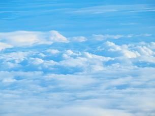 天空の雲の写真素材 [FYI01249510]