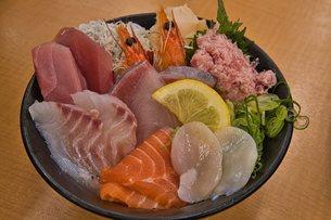 海鮮丼の写真素材 [FYI01249521]