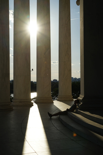 トーマス・ジェファーソン記念館の写真素材 [FYI01249587]