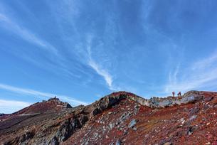 富士山の頂上の写真素材 [FYI01250022]