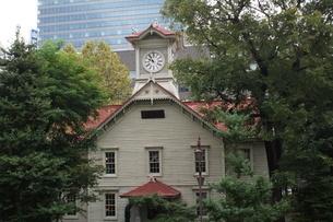 札幌時計台の写真素材 [FYI01250109]