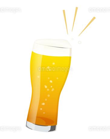 ビールで乾杯のイラスト素材 [FYI01250276]