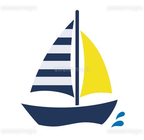 ヨットのアイコンのイラスト素材 [FYI01250293]