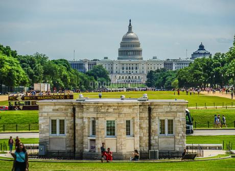 アメリカ合衆国議会議事堂(United States Capitol)の写真素材 [FYI01250297]