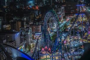 東京の夜景(文京シビックセンターから)の写真素材 [FYI01250334]