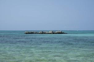 八重山諸島の海の写真素材 [FYI01250423]