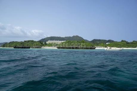 石垣島川平湾の風景の写真素材 [FYI01250454]
