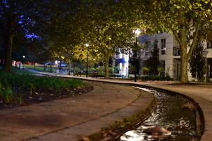 Evening Brookの写真素材 [FYI01250457]