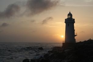 孤独な灯台の写真素材 [FYI01250546]