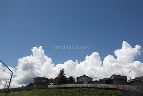 田舎の空の写真素材 [FYI01250578]
