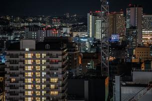 横浜マリンタワーから見える横浜の街並みの写真素材 [FYI01250974]
