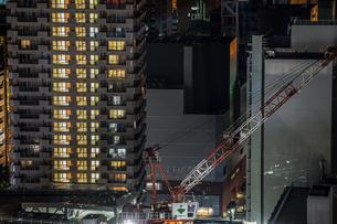 横浜マリンタワーから見える横浜の街並みの写真素材 [FYI01250975]